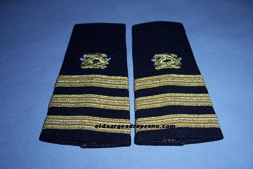 USN CDR Civil Engineering Epaulets