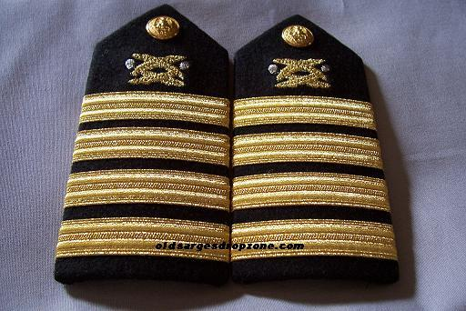 USN Capt. Civil Engineering FEMALE Shoulder Boards