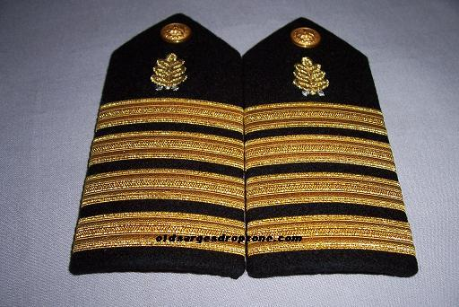 USN Capt. Dental Corps FEMALE Shoulder Boards