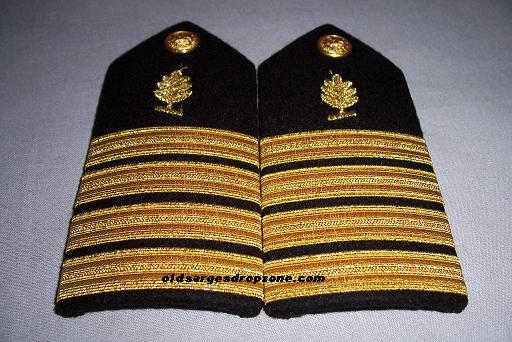 USN Capt. Medical Service Corps FEMALE Shoulder Boards