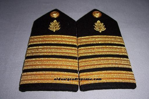 USN Capt. Nurse Corps FEMALE Shoulder Boards