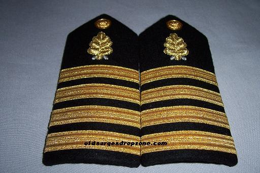 USN Capt. Dental Corps MALE Shoulder Boards
