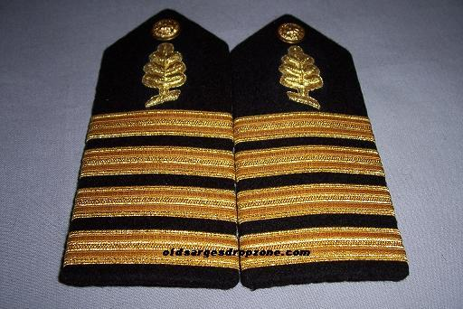 USN Capt. Medical Service Corps MALE Shoulder Boards