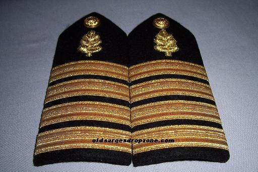 USN Capt. Nurse Corps MALE Shoulder Boards