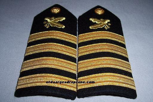 USN Capt. Supply Corps MALE Shoulder Boards