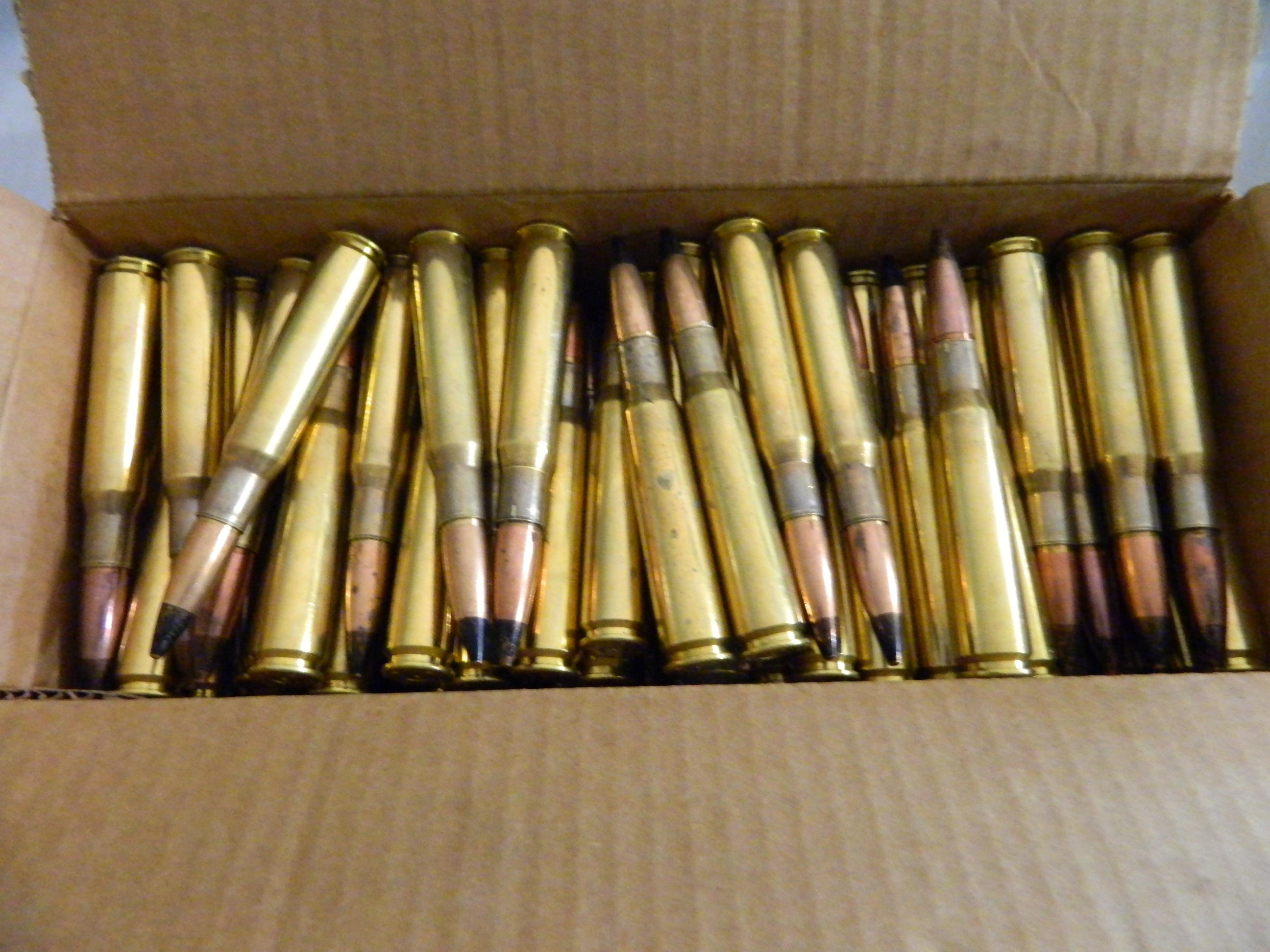 50 Cal. Dummy Rounds - 100 Ct. AP Tip
