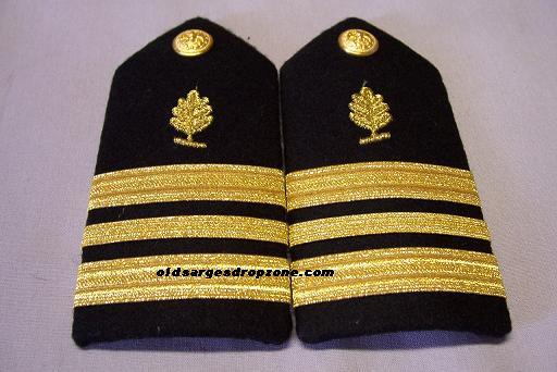 USN LCDR Medical Service Corps FEMALE Shoulder Boards