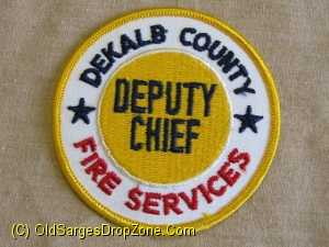 Dekalb County Fire Services Deputy Chief