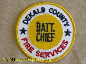 Dekalb County Fire Services Batt. Chief