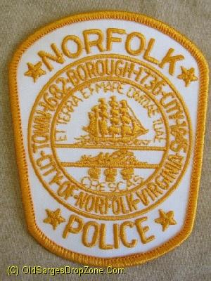 Norfolk Police City Of Norfolk, Virginia