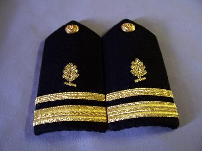 USN LTJG Medical Service Corps FEMALE Shoulder Boards