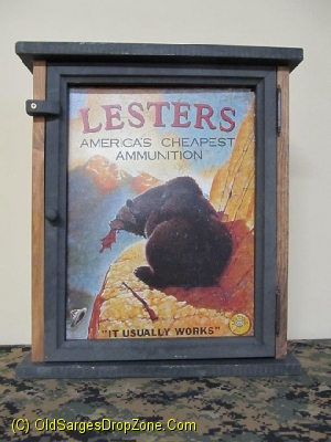 Lester's Ammo Pine Cabinet