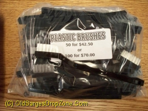 Plastic Cleaning Brushes 50 pk