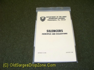 Silencers; Principles & Evaluations
