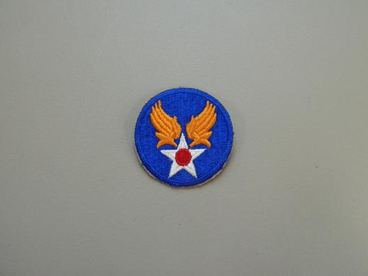 Army Air Force Color Patch- No Pigtail