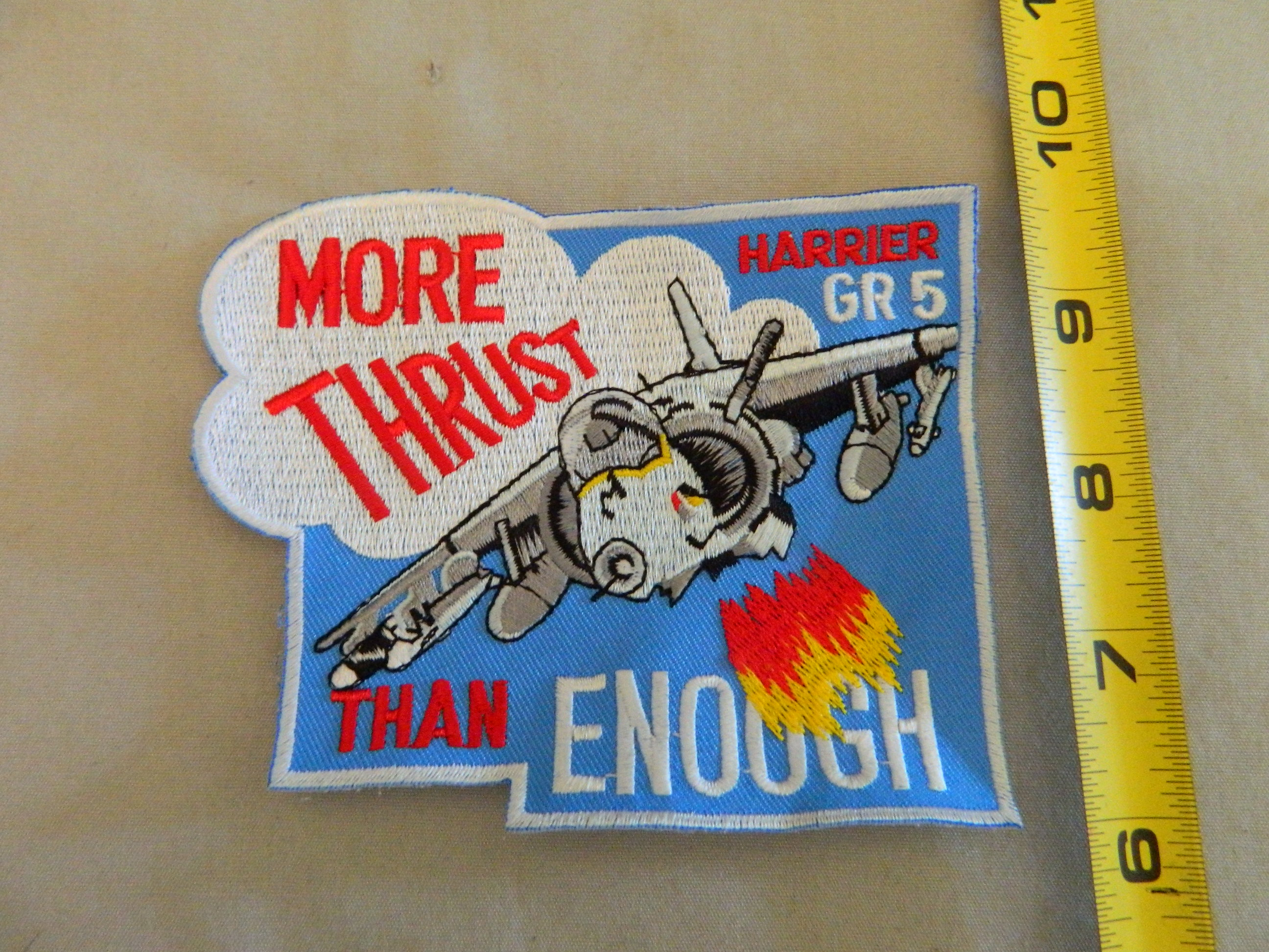 USN: Harrier GR-5 More Thrust Than Enough Patch