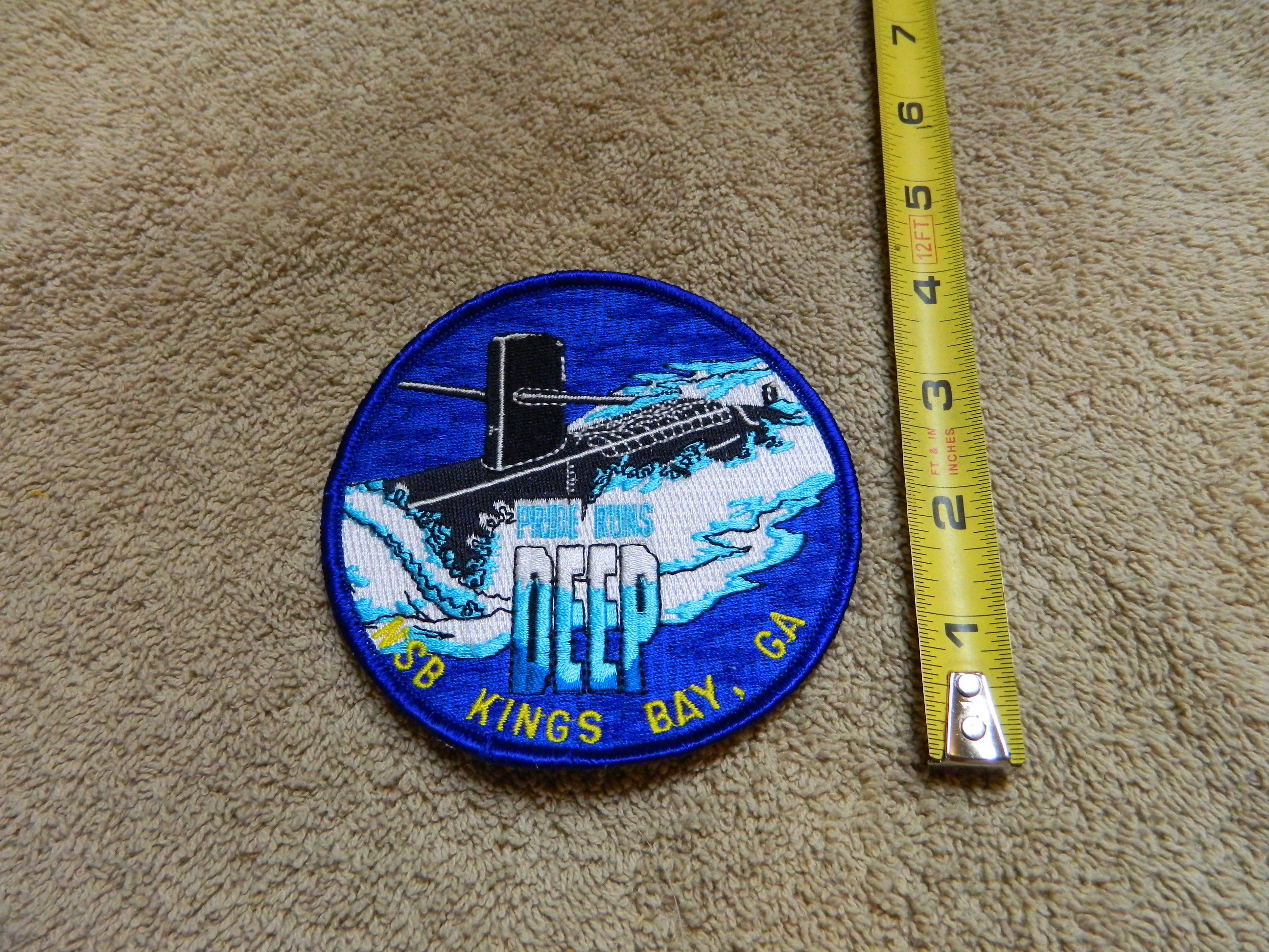 USN: NSB KINGS BAY, GA- Color Patch
